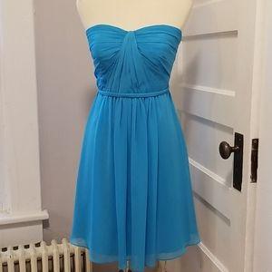 David's Bridal Strapless Dress, Size 10